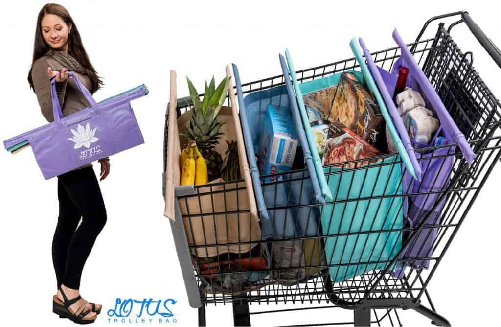 Lotus Trolley Bag - Avoid single use plastics